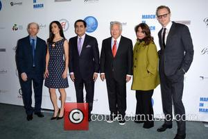 Ron Howard, Jennifer Connolly, Robert Kraft and Muna Rihani Al-nasser