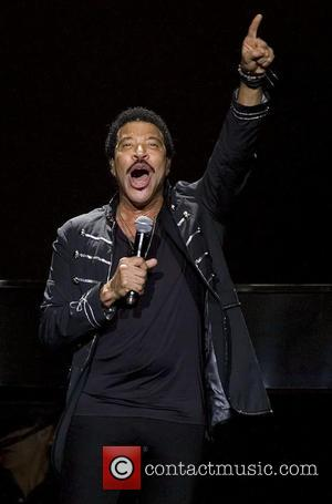 Photographs of American singer songwriter Lionel Richie as he performed live in concert at the SSE Hydro arena in Glasgow,...