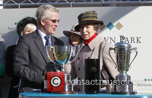 Princess Anne - Princess Anne at Sandown Racecourse at Sandown Park Racecourse - Esher, United Kingdom - Friday 6th March...