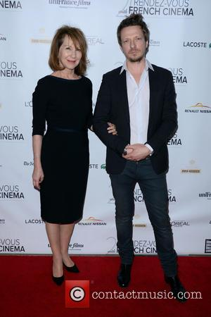Nathalie Baye and Frederic Tellier