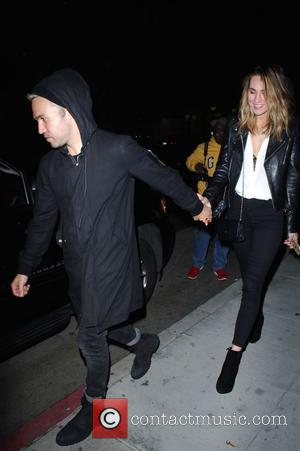 Pete Wentz Meagan Camper - Pete Wentz and  Meagan Camper go to Mr Chow at Beverly Hills - Los...