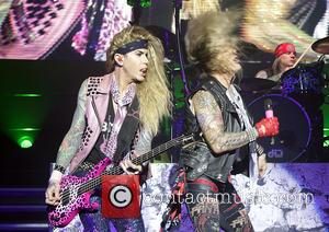Steel Panther, Michael Starr and Lexxi Foxx