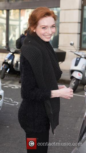 Eleanor Tomlinson - Celebrities at the BBC Radio 2 at BBC Portland Place - London, United Kingdom - Friday 6th...