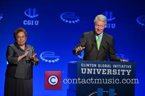 Bill Clinton and Donna E. Shalala