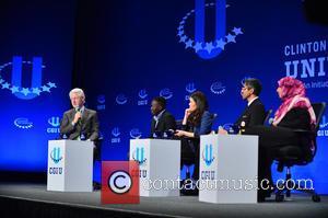 Bill Clinton, Tawakkol Karman, America Ferrera, Paul Lorem and Vivek Murthy