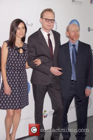 Jennifer Connelly, Paul Bettany and Ron Howard