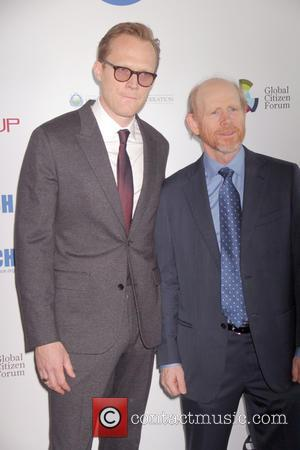 Paul Bettany and Ron Howard
