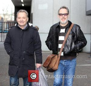 Vic Reeves and Bob Mortimer - Vic Reeves and Bob Mortimer outside ITV Studios - London, United Kingdom - Friday...