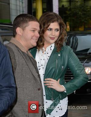 Hillary Scott - Lady Antebellum arrive at the BBC Breakfast studios at MediaCityUK ahead of an appearance on the show...