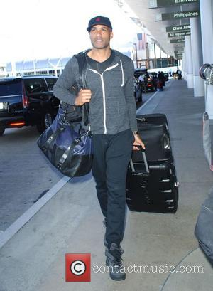Boris Kodjoe - Boris Kodjoe arrives at LAX to fly to Africa to film a movie at LAX - Los...