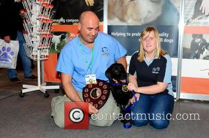 Marc Abraham, Sophie Edney and Diesel Edney - Marc Abraham ('Marc the Vet') presents the Galen Therapy Centre's annual Extraordinary...