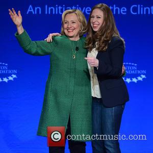 Former U.S. Secretary of State, U.S. Senator from New York Hillary Clinton and Vice Chair of Clinton Foundation Chelsea Clinton...