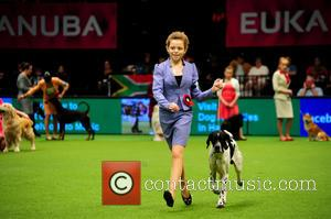 Robyn Arnall - Crufts International Junior Handling competition at the National Exhibition Centre in Birmingham at National Exhibition Centre -...