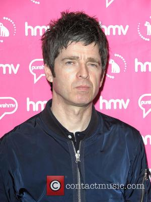 Noel Gallagher - British singer/songwriter Noel Gallagher, best known for being part of Manchester-based band Oasis, hosts fan meet and...