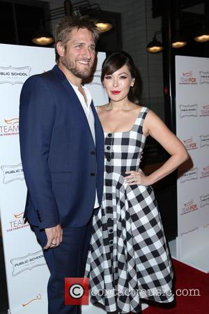 Curtis Stone and Lindsay Price - A variety of stars were snapped as they arrived at the Raising The Bar...