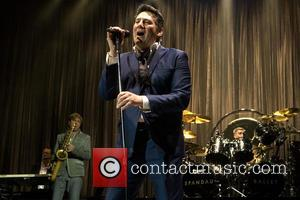 Tony Hadley - Spandau Ballet performing live in concert at the SSE Hydro at the SECC at SSE Hydro SECC...