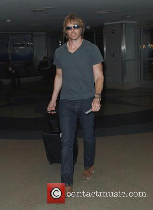 Eric Christian Olsen - Eric Christian Olsen arriving at Los Angeles International Airport (LAX) at lax - Los Angeles, California,...