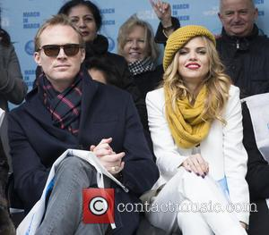 Paul Bettany and AnnaLynne McCord - 2015 International Women's Day March at Dag Hammarskjold Plaza at Dag Hammarskjold Plaza, NY...