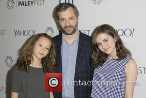 Iris Apatow, Judd Apatow and Maude Apatow - A host of stars were photographed as they attended the 'Girls' panel...