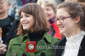 Gemma Arterton and Laura Pankhurst