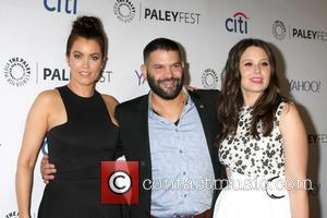 Bellamy Young, Guillermo Diaz and Katie Lowes