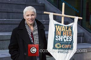 Annie Lennox And Paloma Faith March For Women's Rights