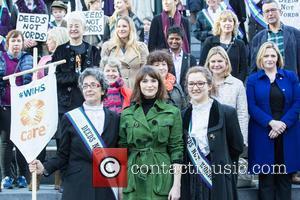 Gemma Cairney, Annie Lennox, Gemma Arterton, Helen Pankhurst, Laura Pankhurst, Dame Jacqueline Wilson and Sandi Toksvig