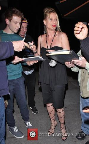 Nicollette Sheridan - Celebrities arrive at Craig's restaurant in West Hollywood - Los Angeles, California, United States - Monday 9th...
