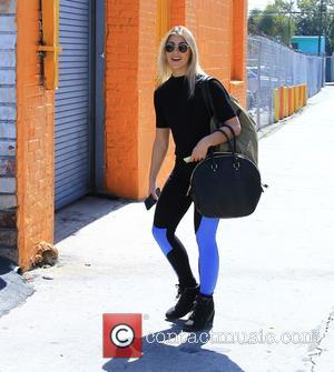 Emma Slater - Celebrities arrive for 'Dancing with the Stars' rehearsal studio for season 20 at Dancing With The Stars...