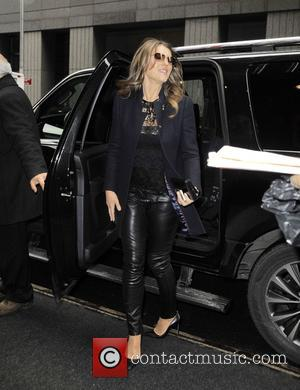 Elizabeth Hurley and Liz Hurley - Elizabeth Hurley at the 'Today' show - Manhattan, New York, United States - Monday...