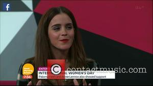 Emma Watson - Emma Watson talks live during a Facebook Q&A she led in honour of International Women's Day on...