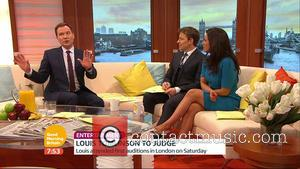 Richard Arnold, Ben Shepherd and Susanna Reid