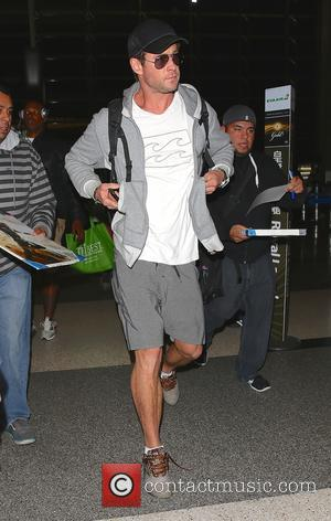 Australian actor Chris Hemsworth who is best known for portraying the role of Thor in Marvel's movies, was snapped as...