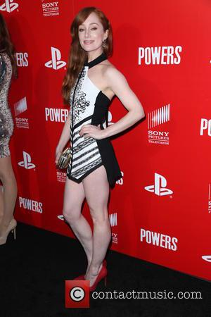 Lotte Verbeek - PlayStation & Sony Pictures television series premiere of 'POWERS' at Sony Pictures Studios - Red Carpet Arrivals...