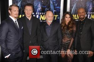 Joel Kinnaman, Liam Neeson, Ed Harris, Genesis Rodriguez and Common