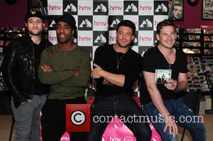 Blue, Antony Costa, Simon Webbe, Duncan James and Lee Ryan