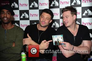 Blue, Simon Webbe, Duncan James and Lee Ryan