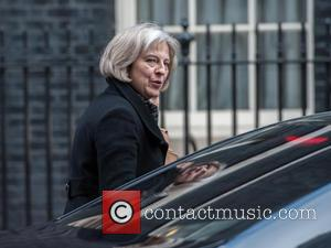 Theresa May - Theresa May, UK Home Secretary leaving a Cabinet meeting in 10 Downing Street -  - Tuesday...