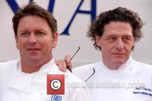 James Martin and Marco Pierre White