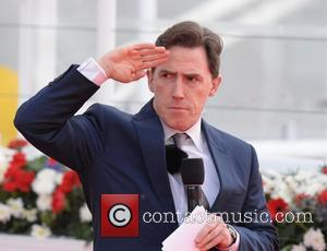 Rob Brydon - The naming ceremony of the new cruise ship Britannia at Southampton Docks in Hampshire, P&O's latest addition...