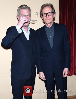 Stephen Daldry and Bill Nighy