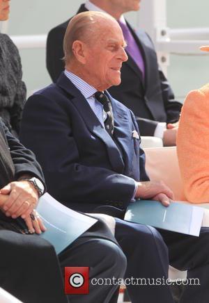 Prince Philip and Duke of Edinburgh - The Inaugural Celebration and Naming Ceremony of the new P&O Cruises ship Britannia...