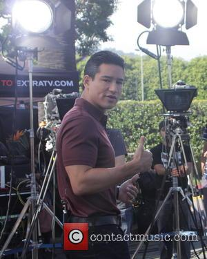 Mario Lopez - Celebrities appear for interview on entertainment show Extra at Universal City Walk - Los Angeles, California, United...