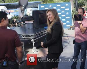 Ronda Rousey - Celebrities appear for interview on entertainment show Extra at Universal City Walk - Los Angeles, California, United...