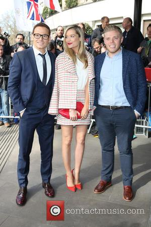 Joe Swash, Laura Whitmore and Rob Becket - The Tric Awards 2015 - London, United Kingdom - Tuesday 10th March...