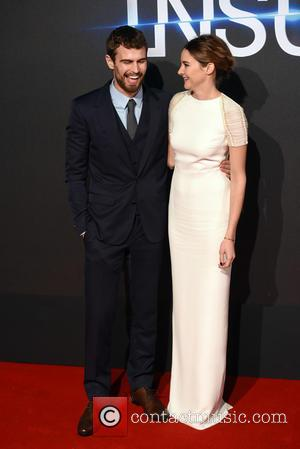 Theo James and Shailene Woodley - Shots of a host of stars as they arrived for the world premiere of...