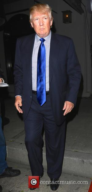 Donald Trump - Donald Trump leaves Craig's restaurant after having dinner - Los Angeles, California, United States - Wednesday 11th...