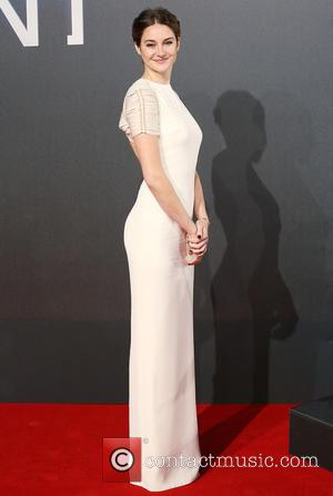 Shailene Woodley - Shots of a host of stars as they arrived for the world premiere of 'Insurgent' which was...