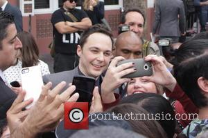 Star of the comedy show 'The Big Bang Theory' Jim Parsons, who plays Sheldon in the show received a Star...