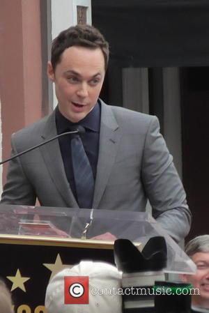 Big Bang Theory Cast Joins Jim Parsons For Star Ceremony